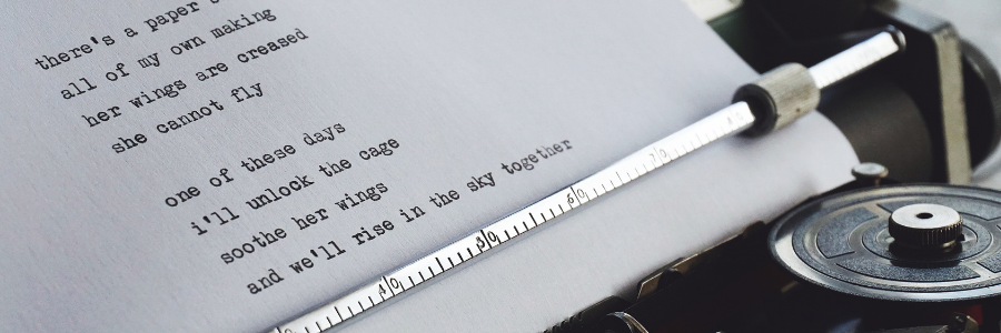 How many words in a line of poetry?